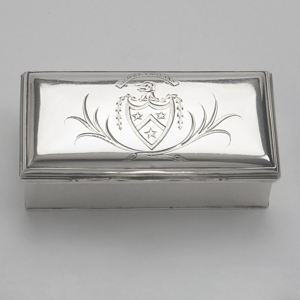 George III Double Compartment Box
