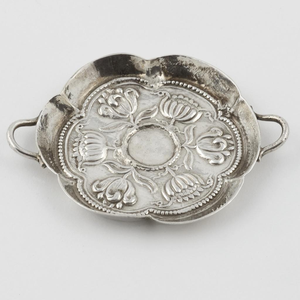 A Toy Silver Dish, Circa 1700.