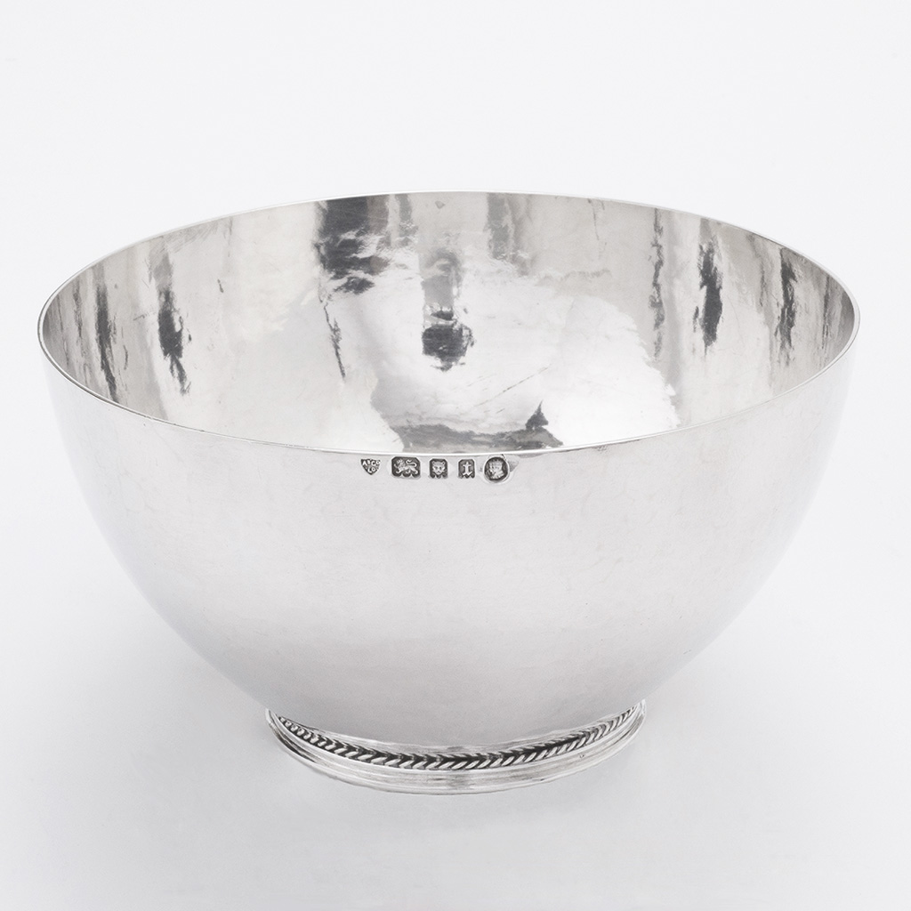 An Artificers' Guild Silver Bowl.