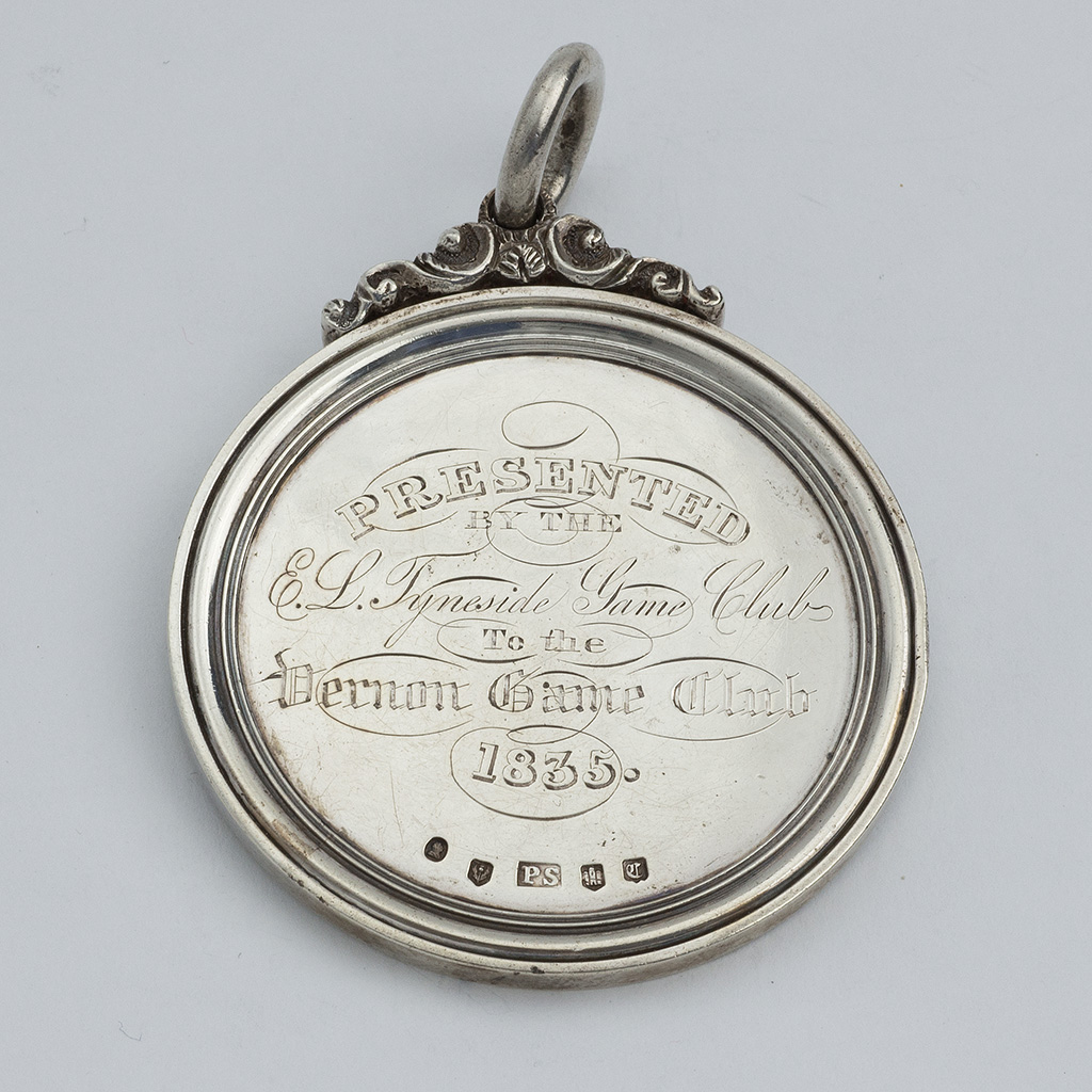 A William IV Scottish Silver Foot Race Prize.