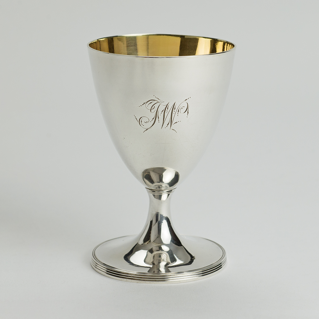 A Small George III Silver Goblet.