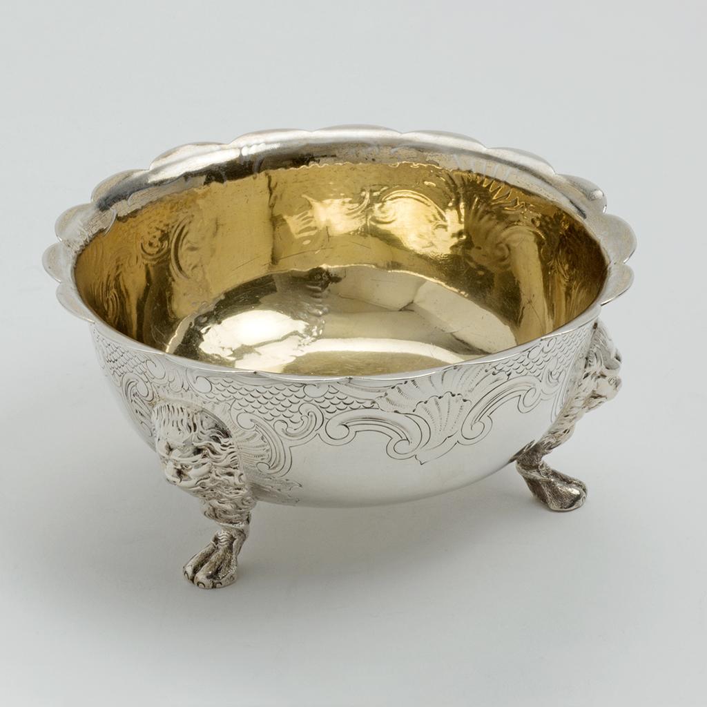 A Victorian Small Silver Bowl.