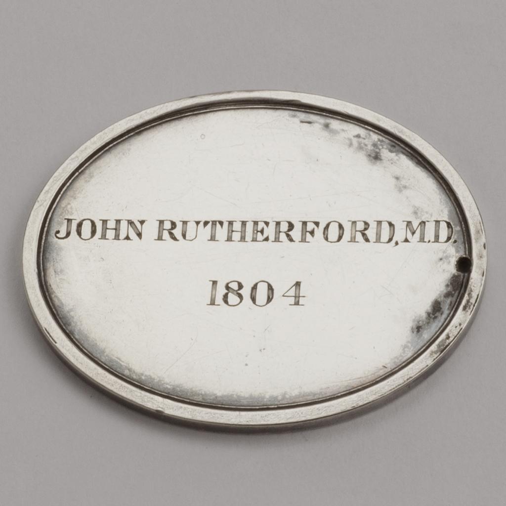 A Silver Medal From The Edinburgh Royal Society.