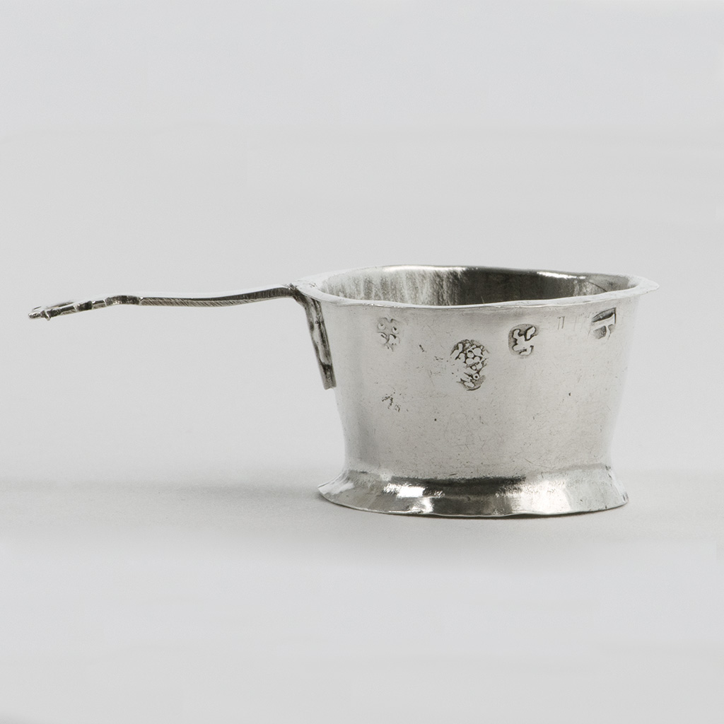 A James II Toy Silver Colander.