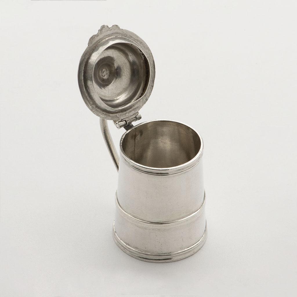 A George I Toy Silver Tankard.