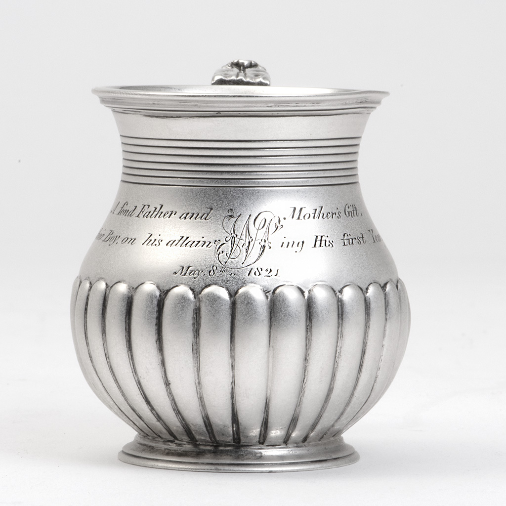 A Charming Little George IV Child's Silver Mug.