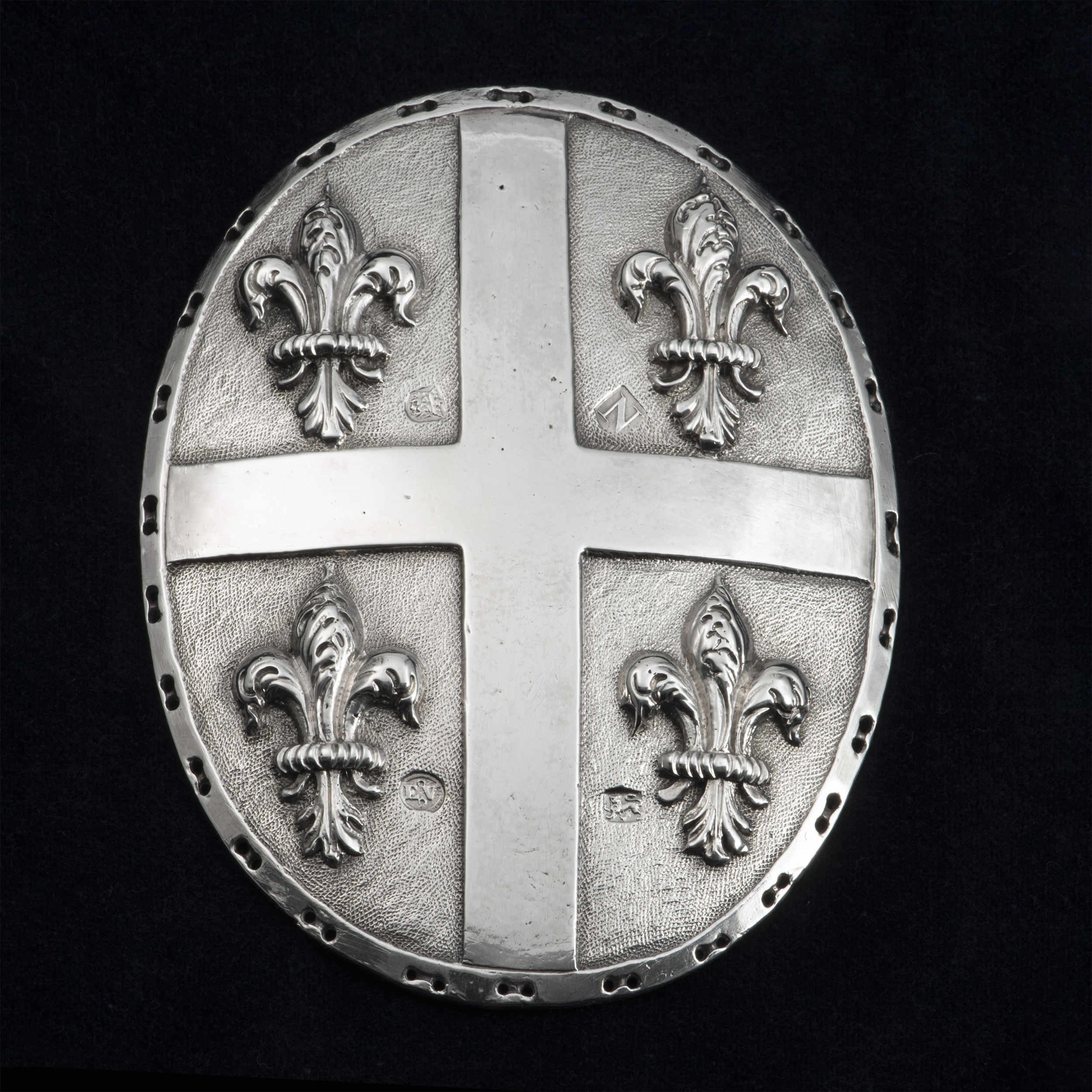 A George II Silver Alms Badge For The Joseph Banks Almshouses At Revesby Abbey.
